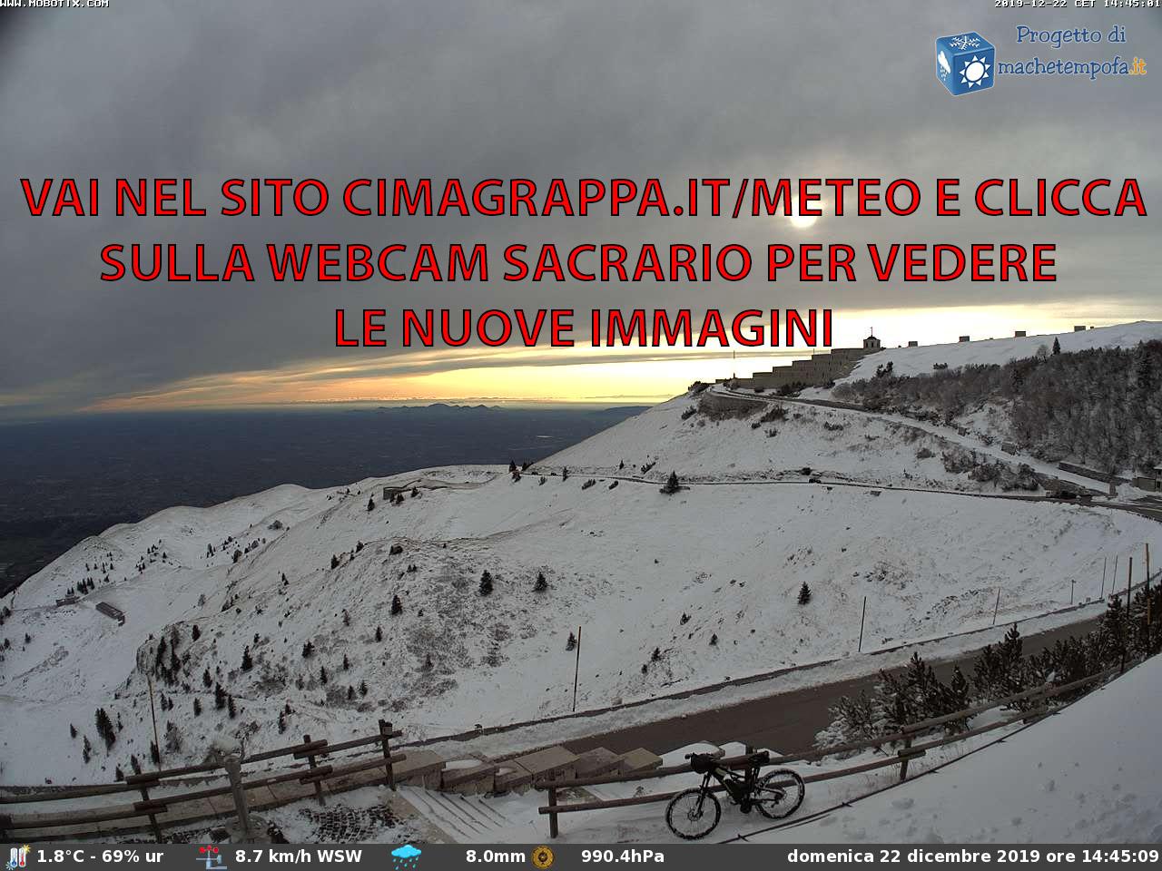 Webcam Monte Grappa 1.745 m. (VI)